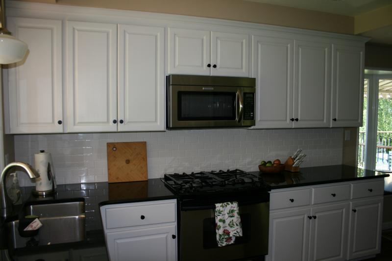White Galley Kitchen | Custom Woodworx
